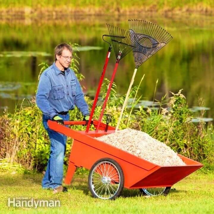 Make Your Own Garden Cart
