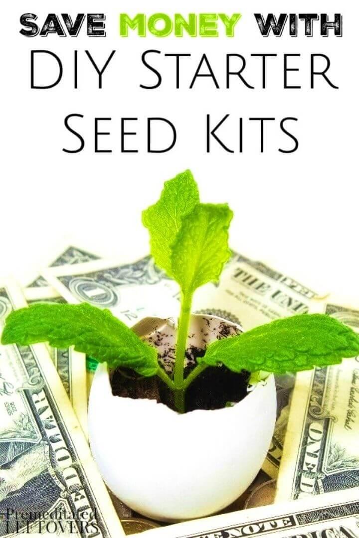 Make Your Own Garden Seed Starter Kits
