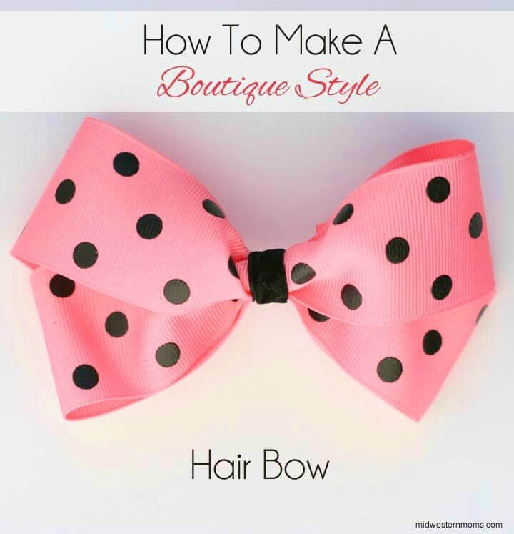 Make a Boutique Style Hair Bows