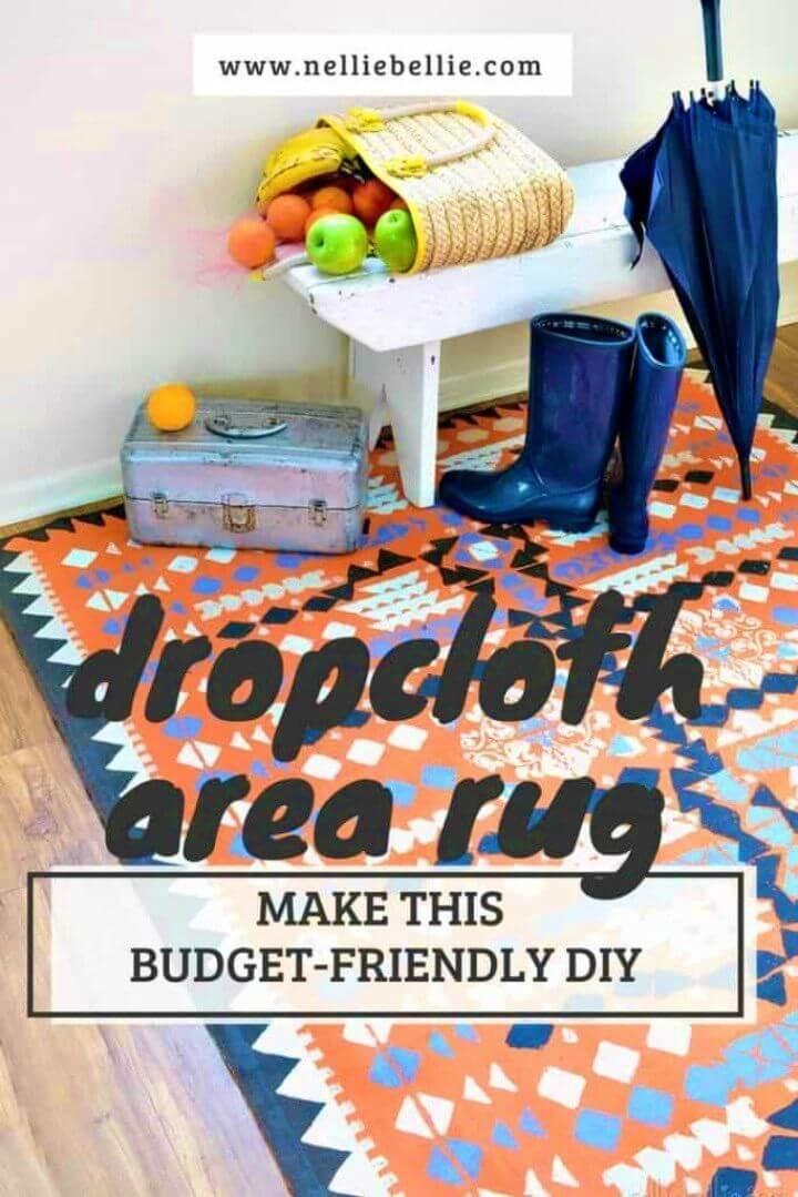 Make a Dropcloth Rug