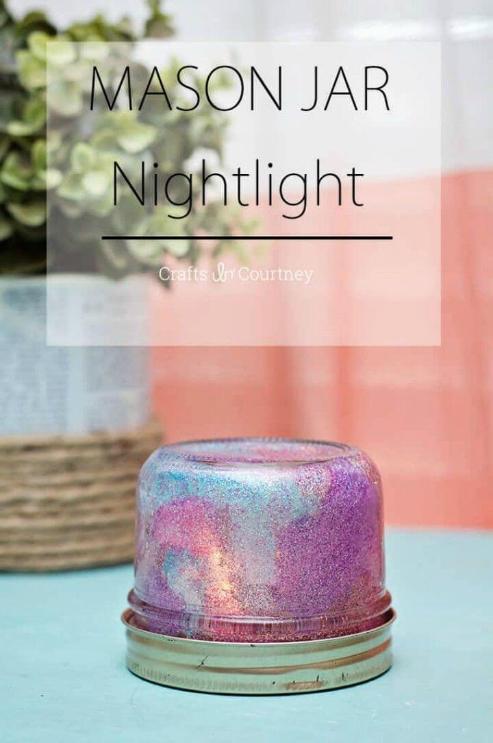 Make a Mason Jar Night Light