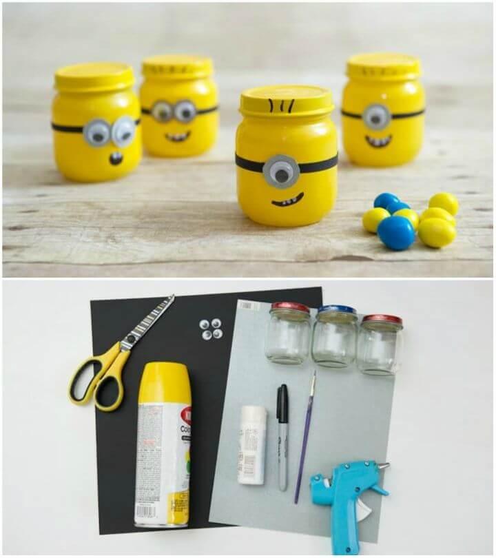 Make a Minion Favor Jar