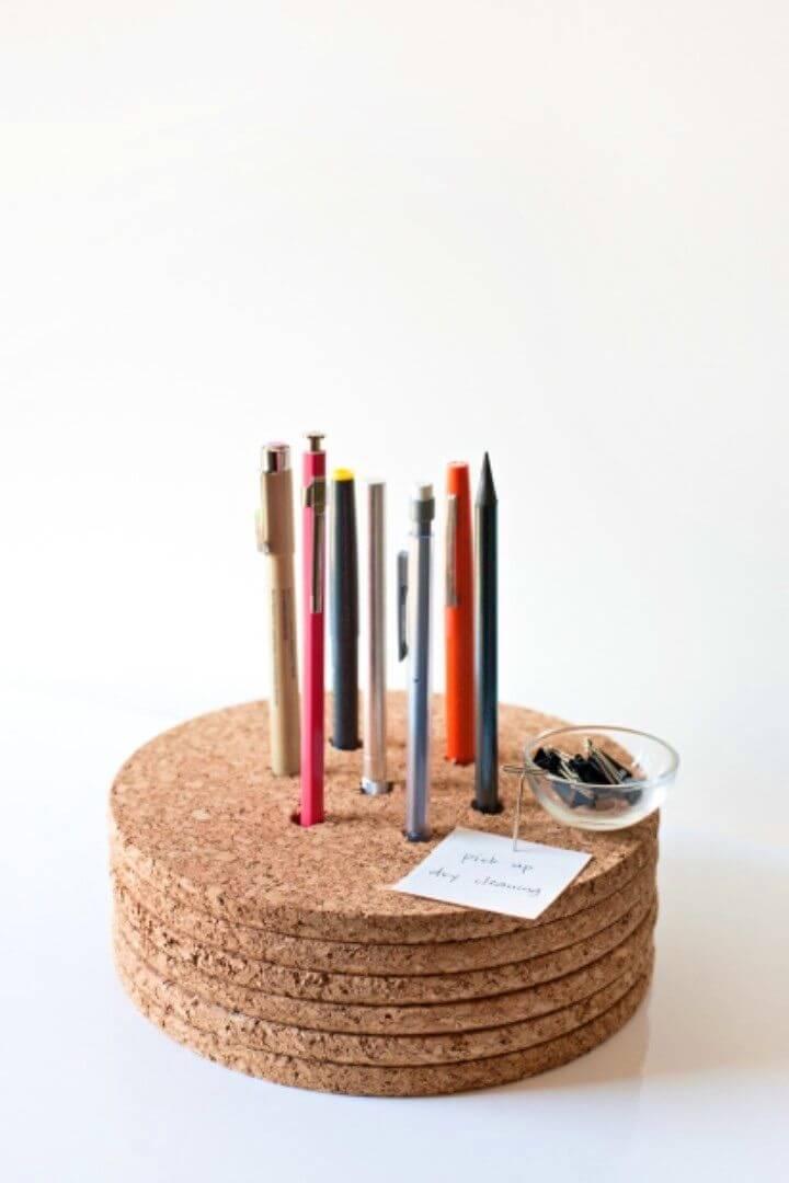 Make a Pencil Holder Office Home Organizer