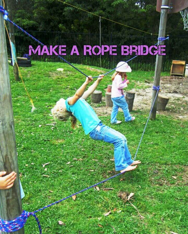 Make a Rope Bridge for Kids