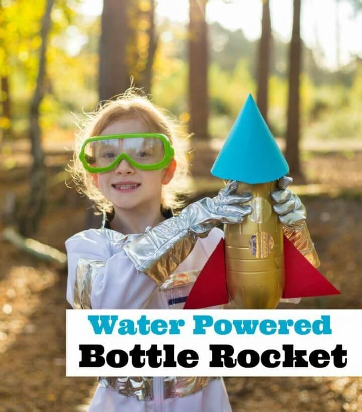Make a Water Powered Bottle Rocket