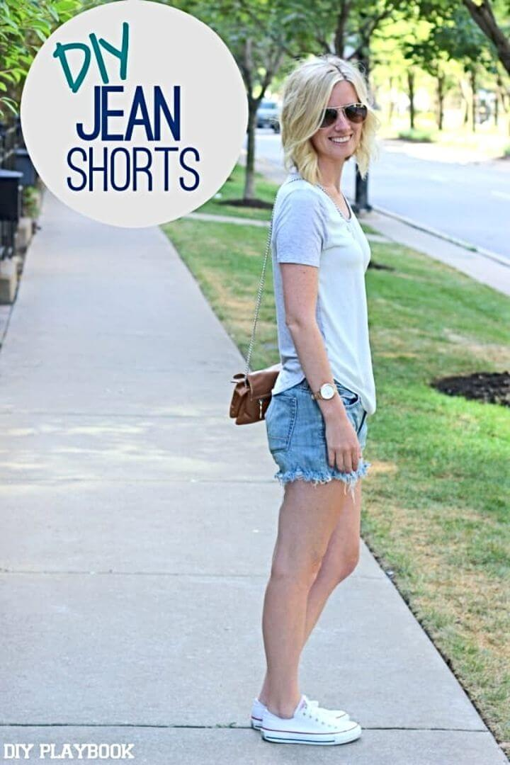 Make your Own Jean Shorts