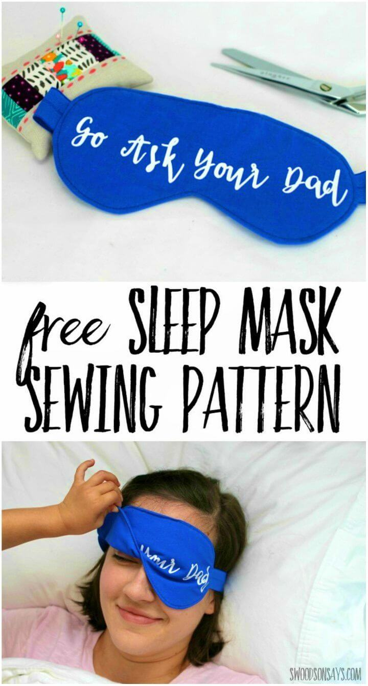 Quick and Easy DIY Sleep Mask