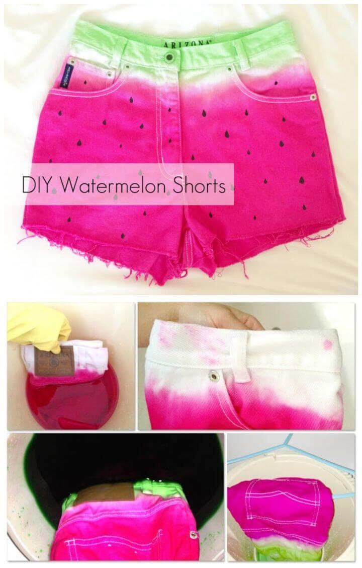 Quick to Make Watermelon Shorts