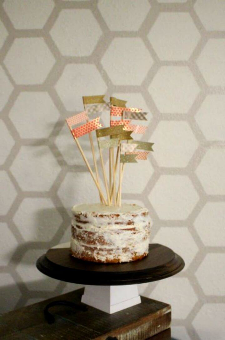 Simple DIY Wooden Cake Stand