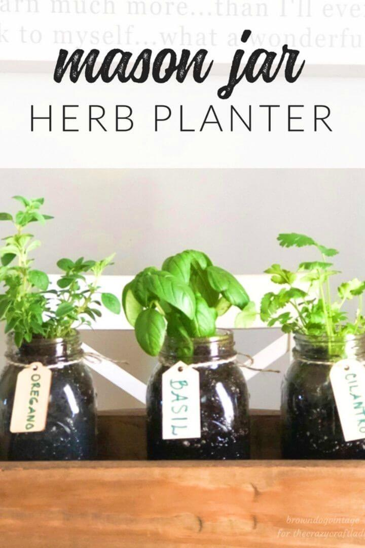 Simple and Quick DIY Herb Garden
