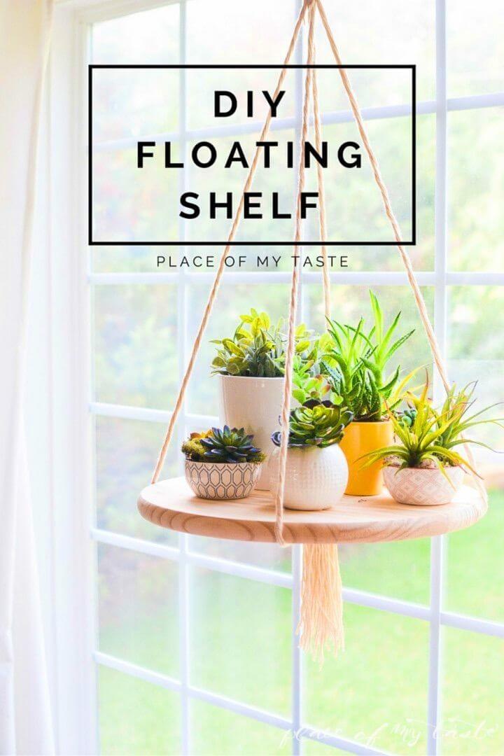 Amazing DIY Floating Shelf