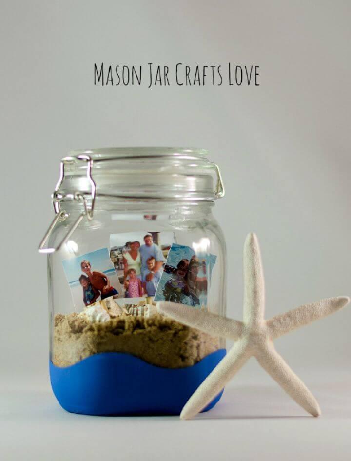 Awesome DIY Vacation Memory Jar