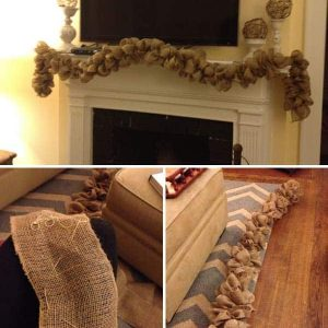Beautiful DIY Burlap Decor Ideas