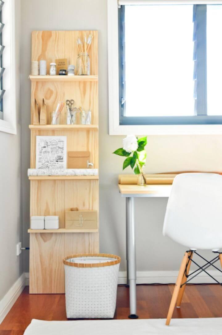 Build A Shelf System for the Study