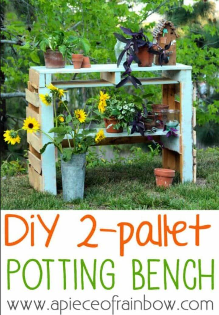 Build Two Pallet Potting Bench