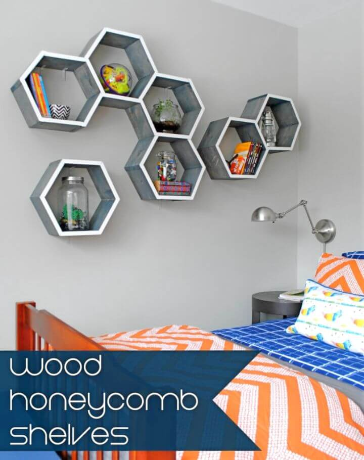 Build Wood Honeycomb Shelves