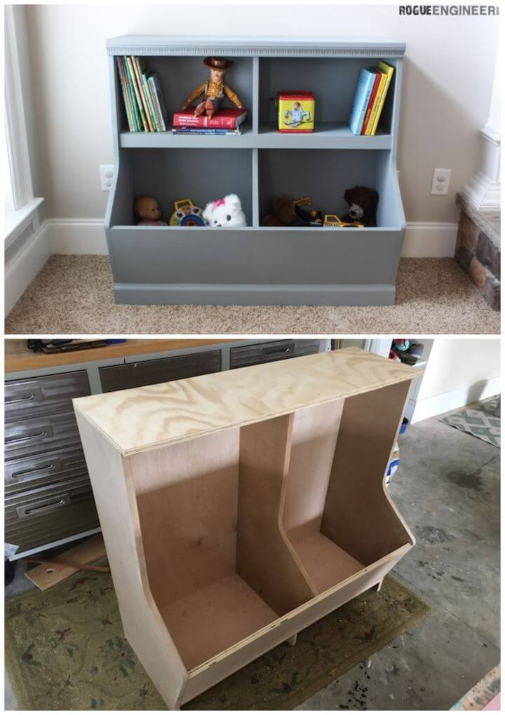 Build Your Own Bookcase with Toy Storage