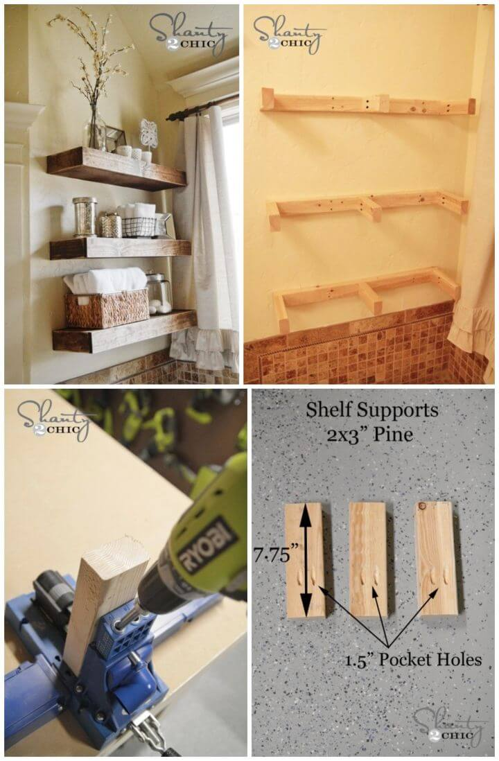 Build Your Own Floating Shelves