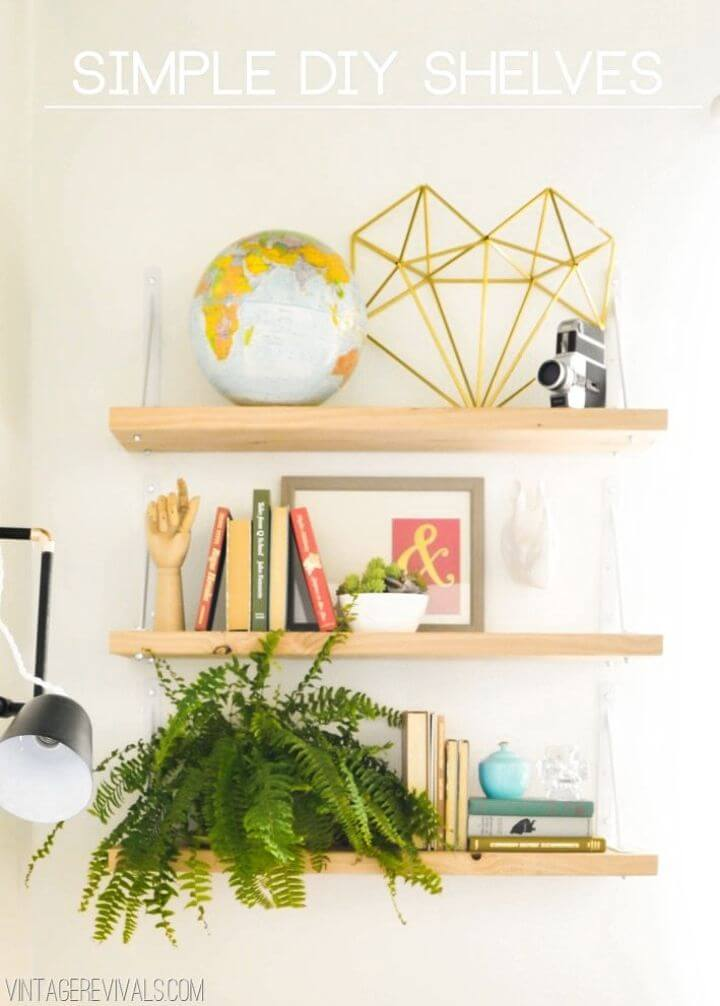 Build Your Own Simple Shelves