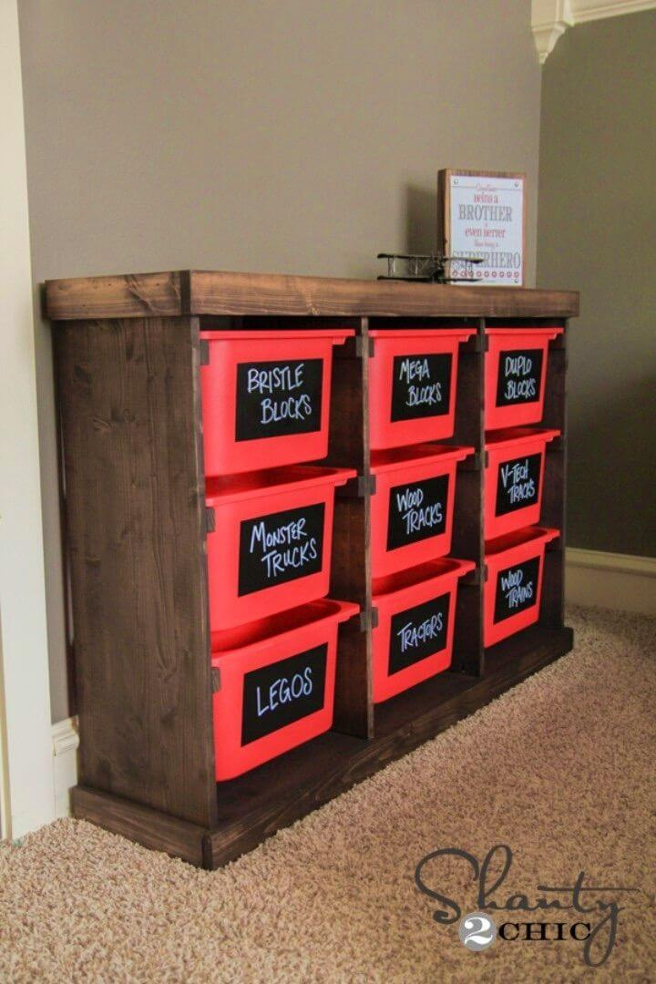 Build Your Own Toy Storage