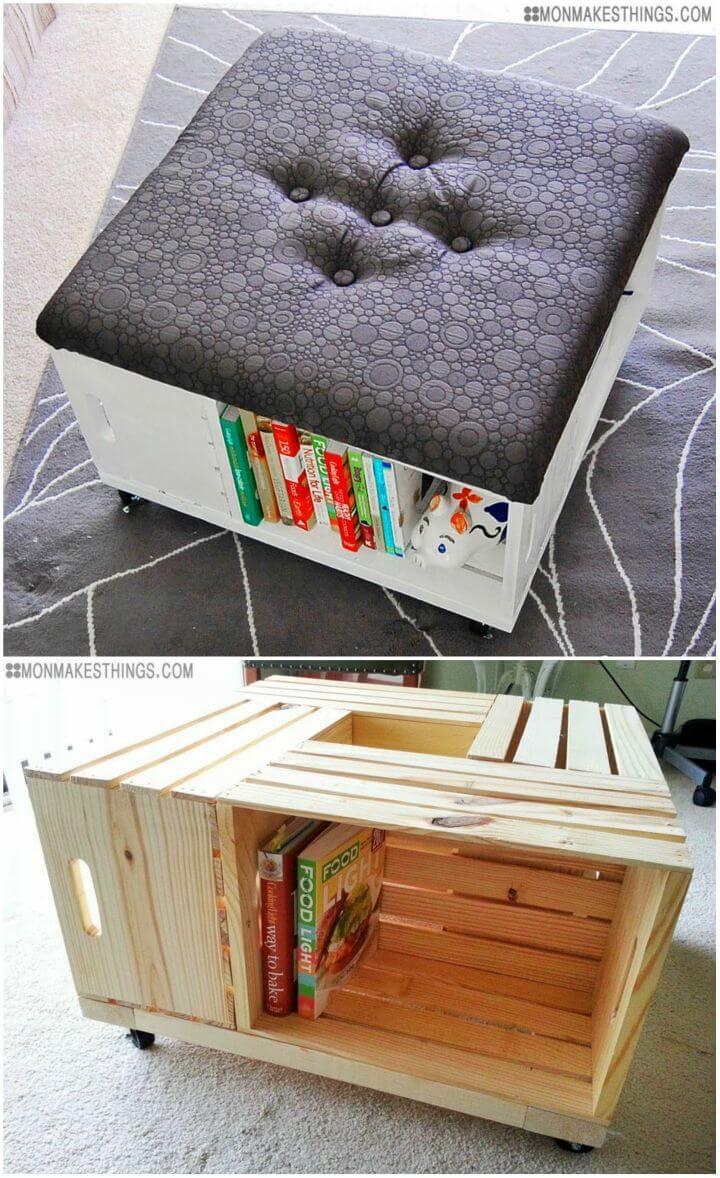 Build a Storage Ottoman