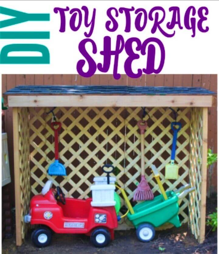 Build a Toy Storage Shed
