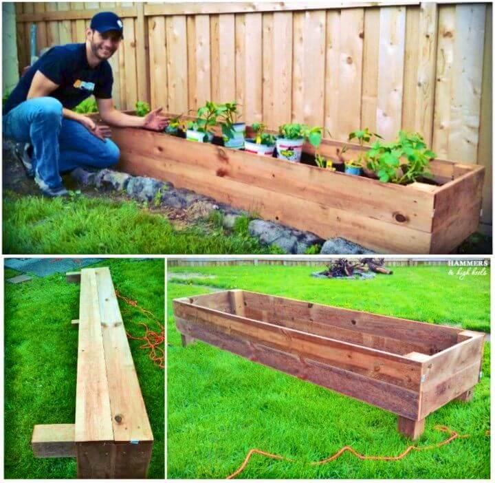 Build a Wooden Raised Garden Bed