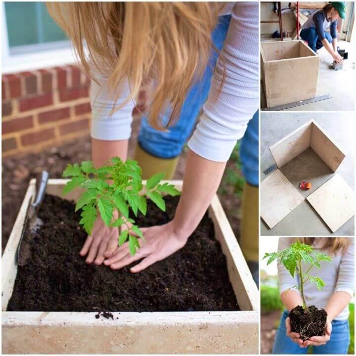 Build an Easy Stone Planter