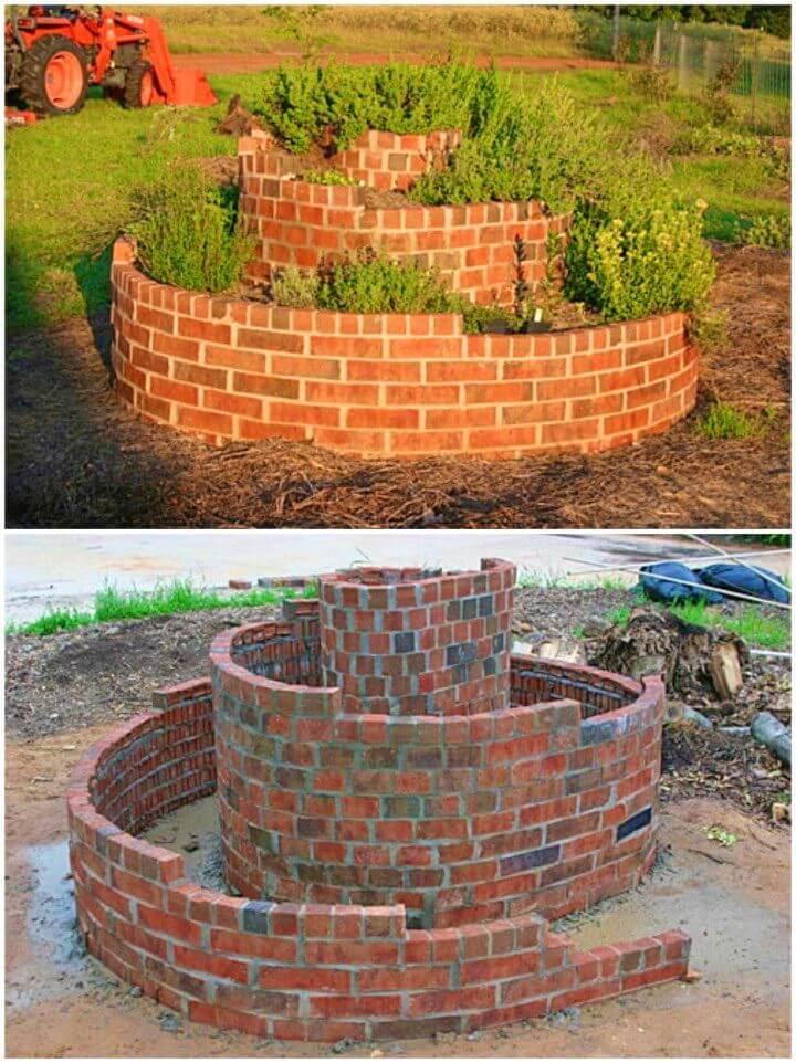 Build an Herb Spiral Garden Project