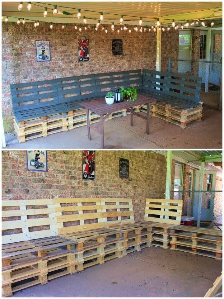 Build an Patio Furniture From Pallets