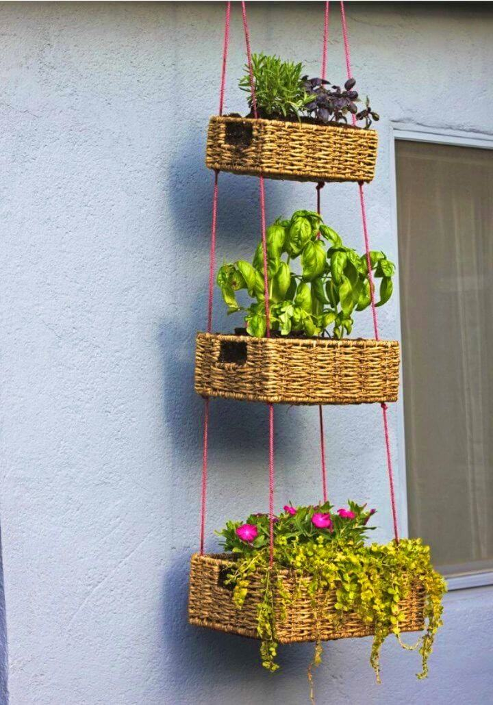 Create a Hanging Basket Garden