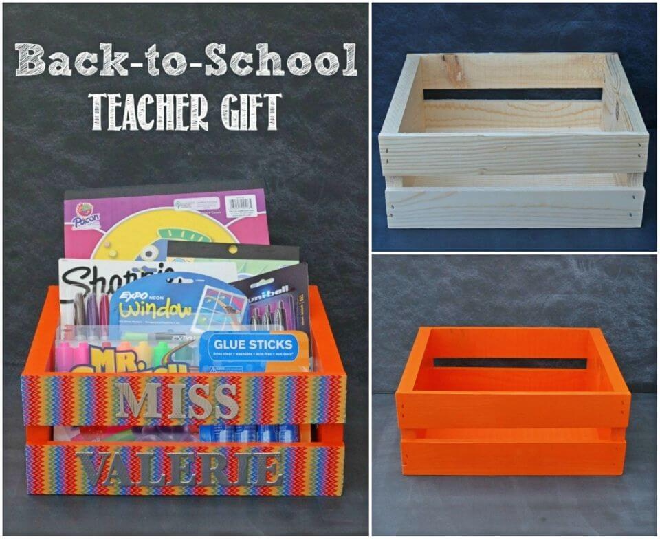 DIY Back to school Teacher Gift