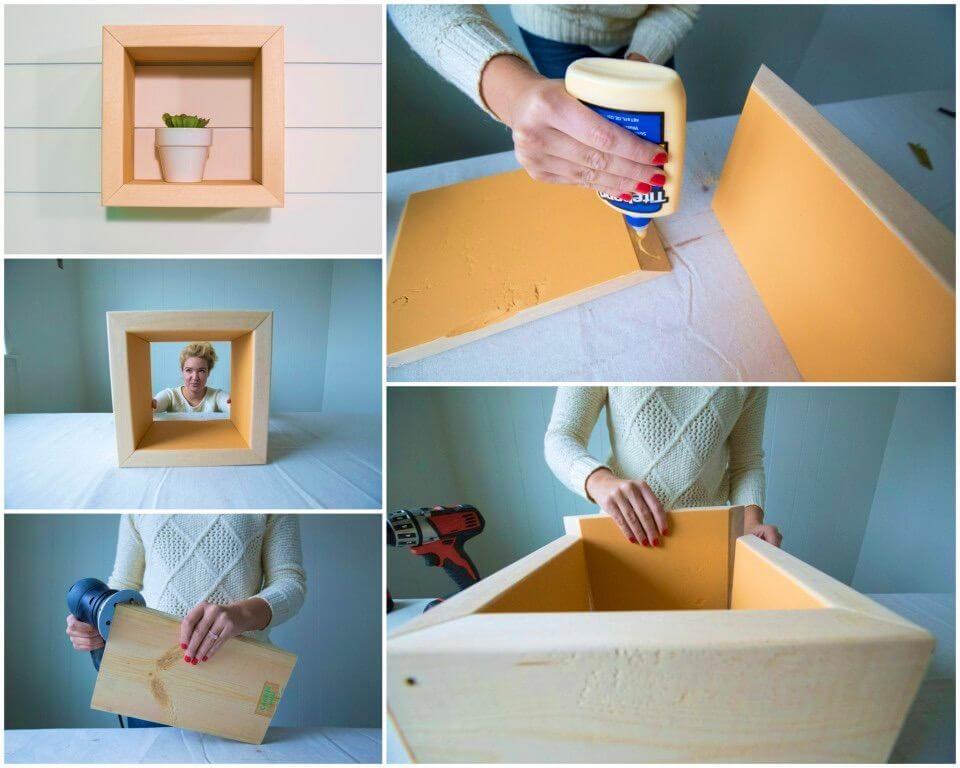 DIY Box Shelf Under An Hour