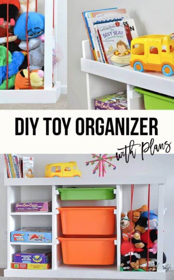DIY The Ultimate Toy Storage Solution