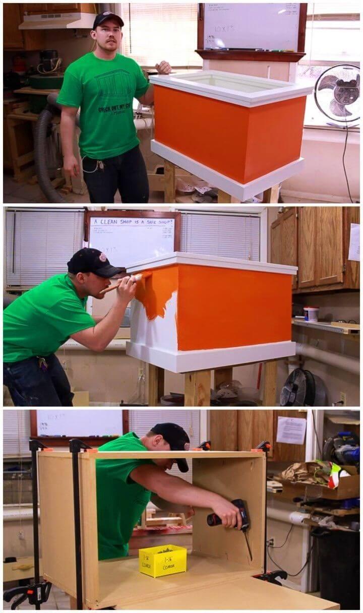 DIY Toy Box That Anyone Can Make