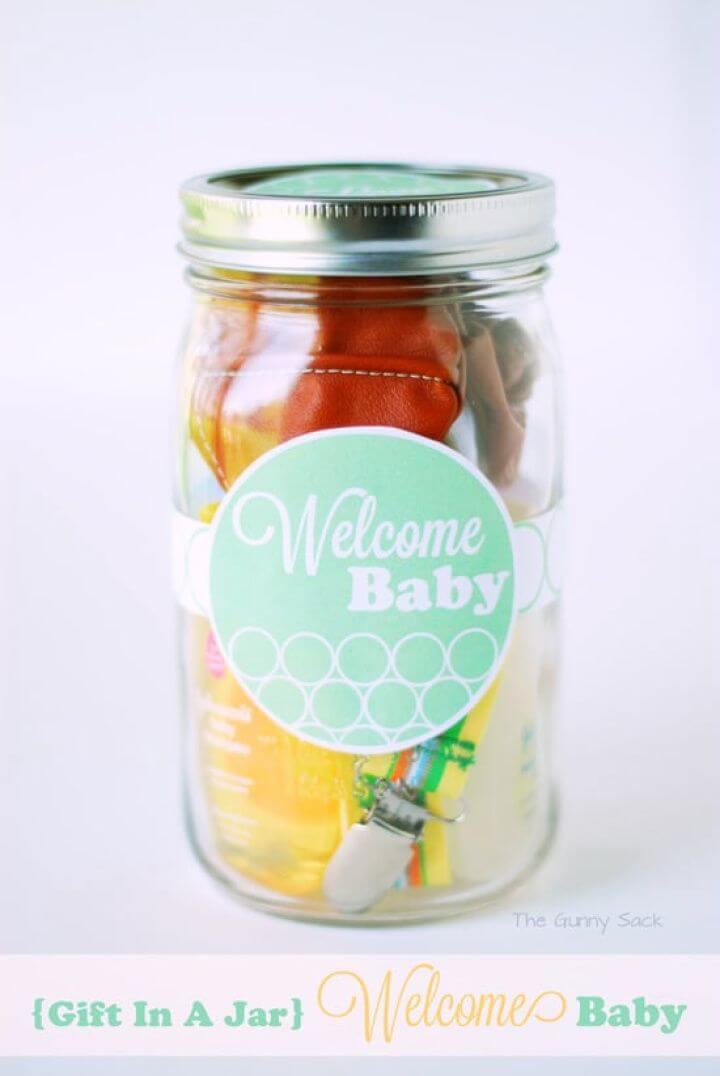 DIY Welcome Baby Gift and Mombo