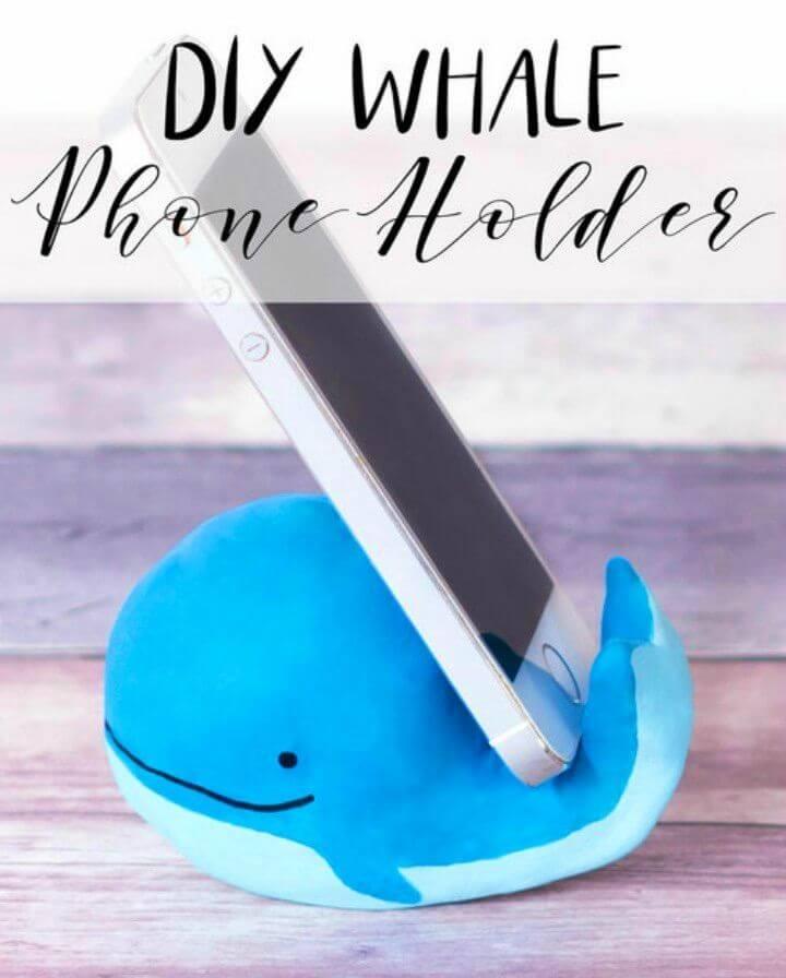 DIY Whale Phone Holder Craft