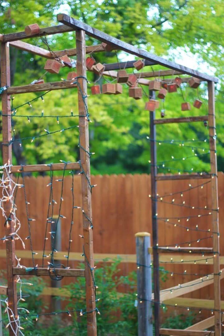 Easy DIY Rustic Garden Gate