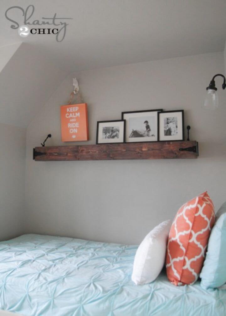 Easy DIY Wooden Shelf Project