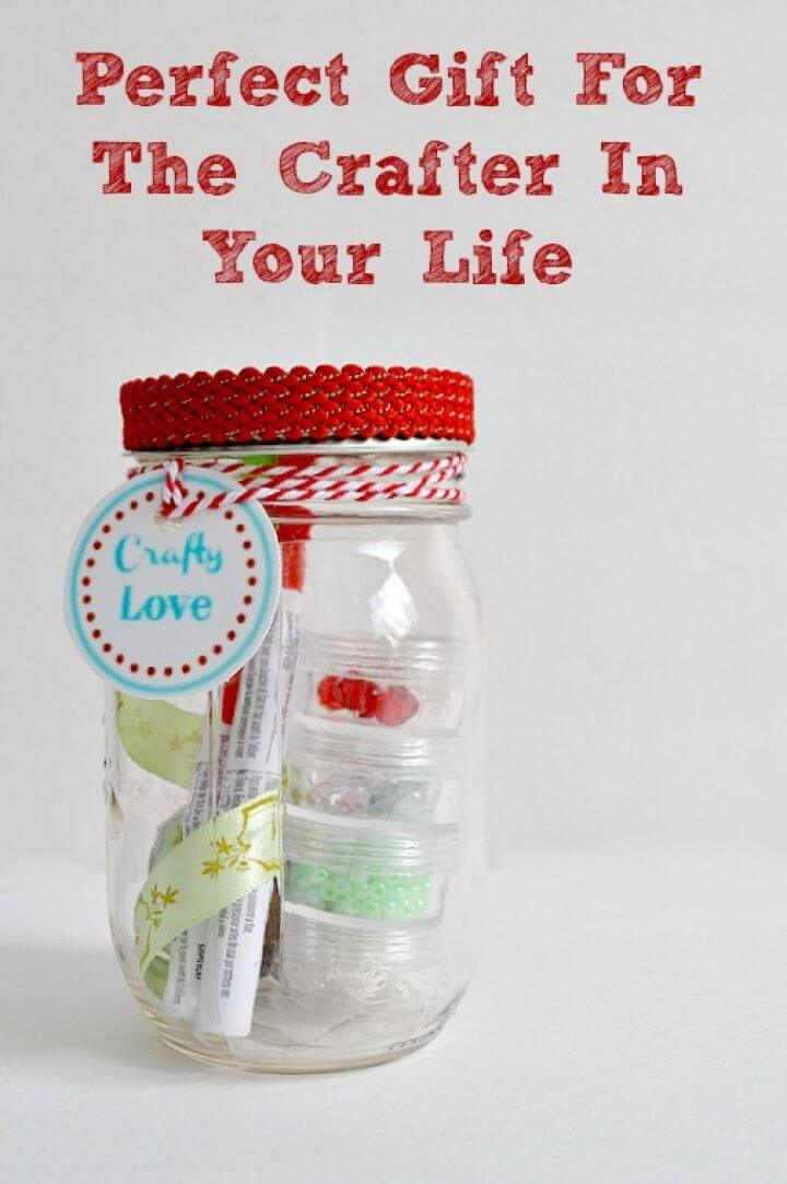 Easy to Make Mason Jar Gift