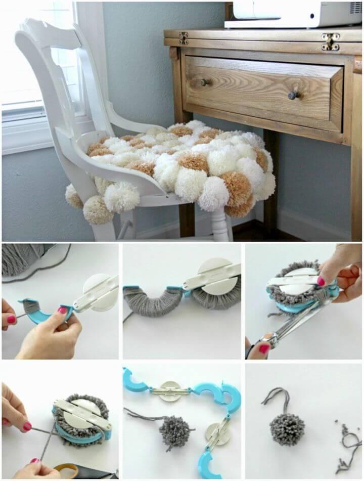 Easy to Make Pom Pom Chair