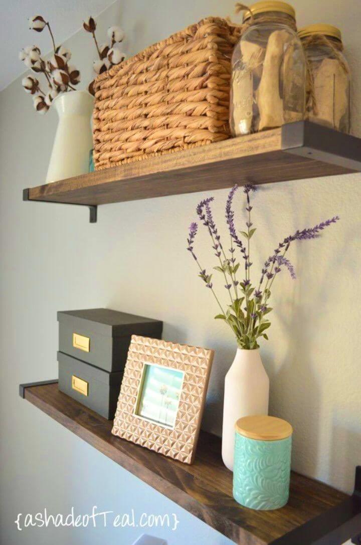 How To Build Bookshelf With Ikea Ekby Brackets