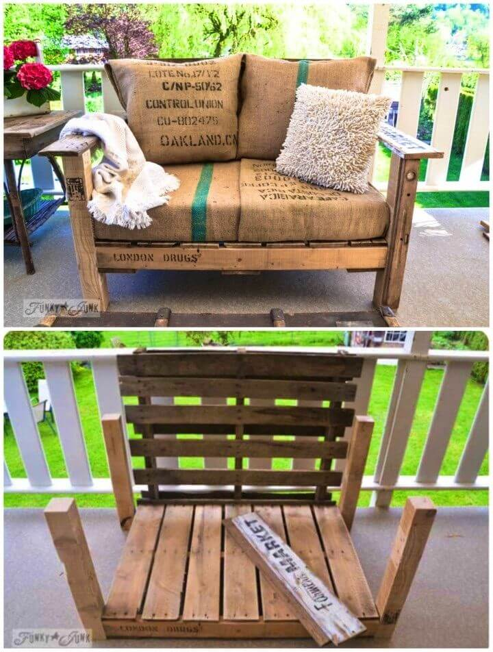 How to Build Cool Pallet Wood Chair