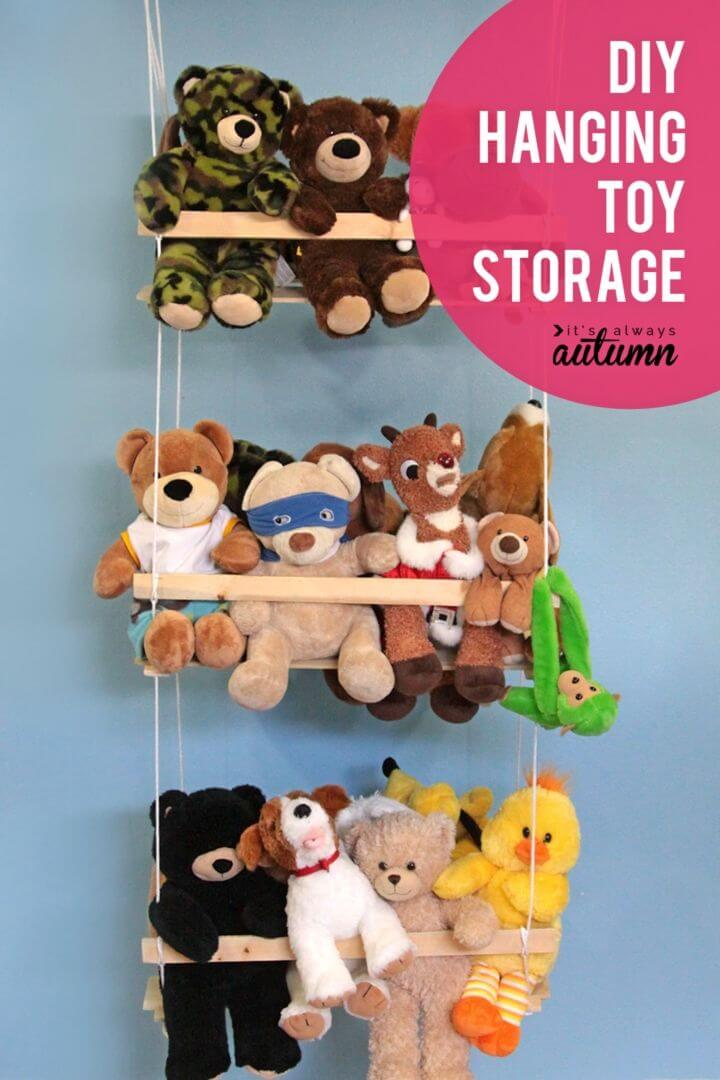 How to Build Hanging Toy Storage