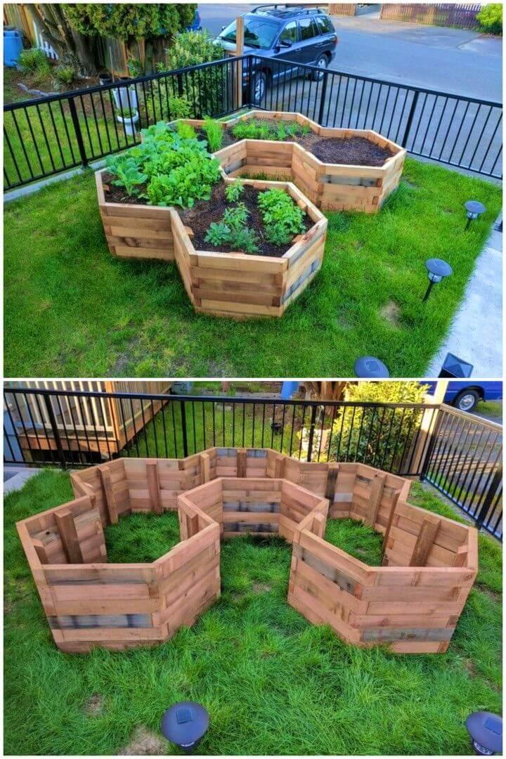 How to Build Hexagonal Garden Beds