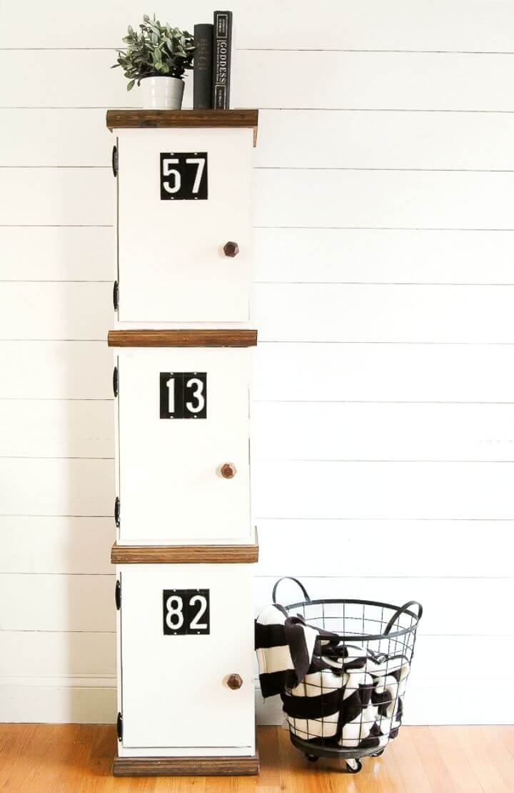 How to Build Wood Crate Lockers