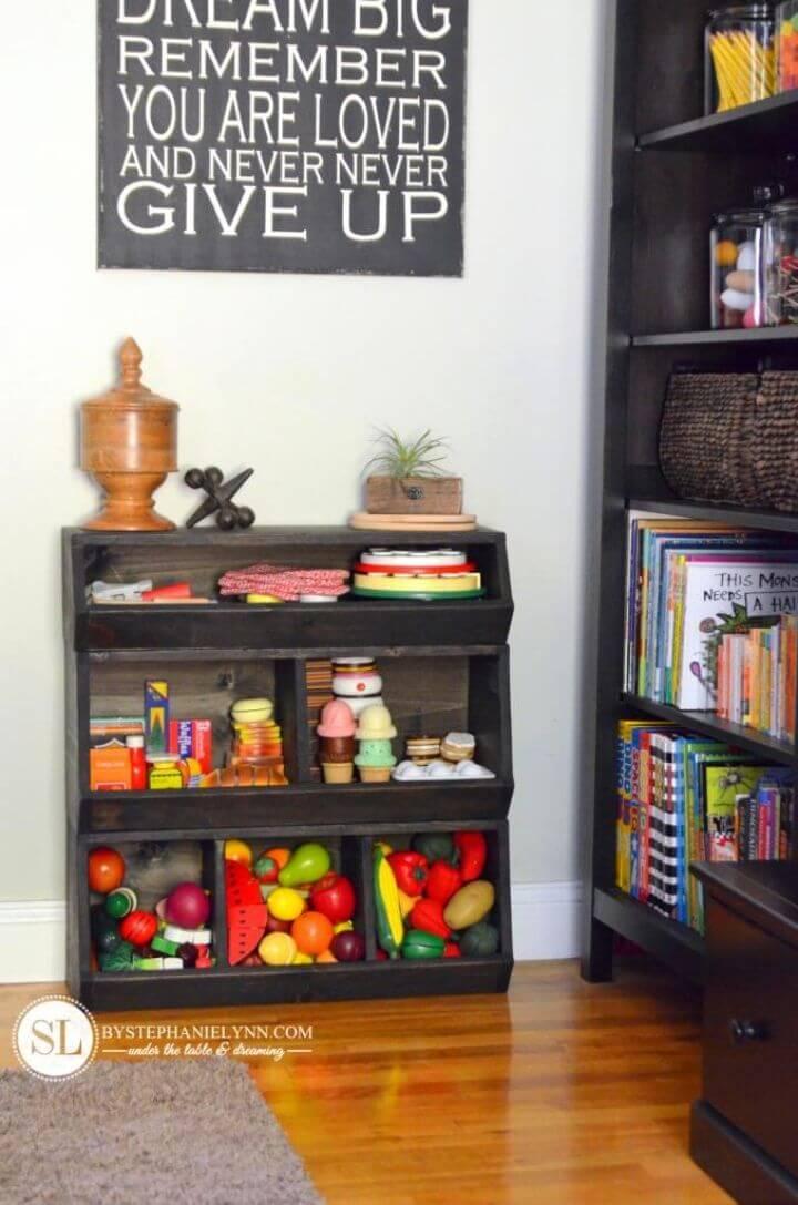 How to Build a Toy Storage Bin