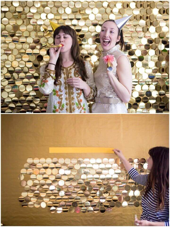 How to DIY Sequin Photobooth