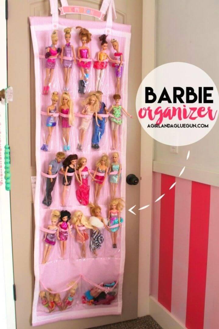 How to Make Barbie Organizer