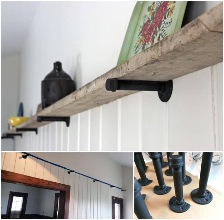 How to Make Barn Wood Shelf